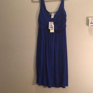 Max Studio royal blue dress BRAND new